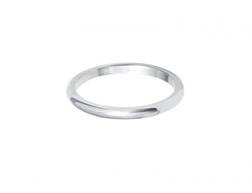 Dome Shape Ring 2mm