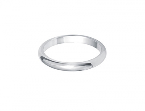 Dome Shape Ring 2.5mm