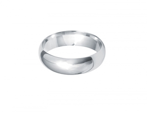Dome Shape Ring 6mm